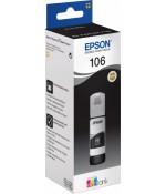 Контейнер Epson 106 с черными водорастворимыми фото-чернилами 70 мл. (C13T00R140)