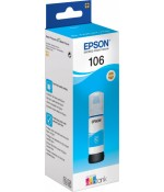 Контейнер Epson 106 с голубыми чернилами 70 мл. (C13T00R240)
