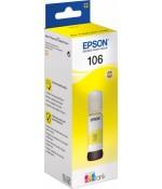 Контейнер Epson 106 с желтыми чернилами 70 мл. (C13T00R440)