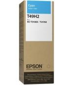 Контейнер с чернилами Epson T49H2, голубой (C13T49H200)