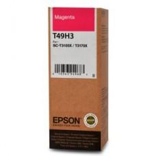 Контейнер с чернилами Epson T49H3, пурпурный magenta (C13T49H300)