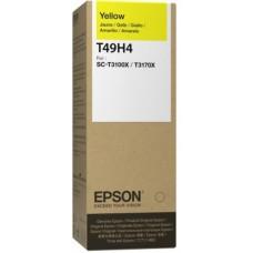 Контейнер с чернилами Epson T49H4, желтый (C13T49H400)