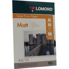 Фотобумага Lomond матовая 1*90г, 25л, А4 (0102029)