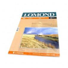Фотобумага Lomond матовая 2*100г, 25л, А4 (0102038)
