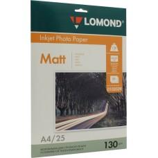 Фотобумага Lomond матовая 2*130г, 25л, А4 (0102039)