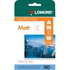 Фотобумага Lomond Матовая 10x15 180 г/кв.м. 50 листов (0102063)