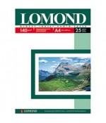Фотобумага LOMOND A4, 140гр, Photo Глянцевая, 1стор. 25л (0102076)