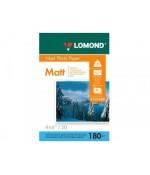 "Фотобумага 4""x6"" Lomond матовая одностороняя 180г/м2 50л (0102088)"