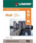 Фотобумага Lomond Матовая односторонняя A2 95 г/кв.м. 25 л. (0102136)
