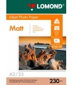Фотобумага Lomond Матовая односторонняя A2 230 г/кв.м. 25 л. (0102139)
