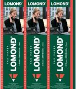 Бумага Lomond термобумага для факса 210мм*30м*12мм (0104001)