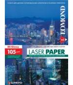 Фотобумага LOMOND глянцевая 2х105г,250л,А4 для лазерн. (310641)