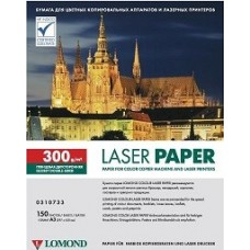 Фотобумага Lomond 300 гр/150 л, глянцевая А3, двухсторонняя для лазерной печати (0310733)