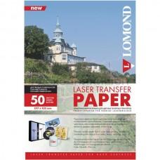 Термотрансферная бумага Lomond для лазерной печати, для твердых поверхностей, A3, 140 г/м2, 50 листов. (0807335)