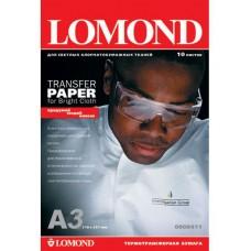 Фотобумага Lomond LOMOND Ink Jet Transfer Paper for Bright Cloth, A3, 140 г/м2, 50 листов (0808315)