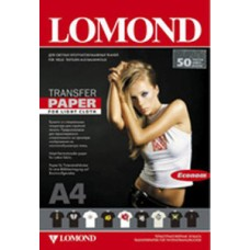 Бумага LOMOND Ink Jet Transfer Paper for Bright Cloth ECONOM, A4, 140 г/м2, 50 листов (0808445)