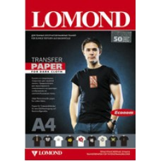 Бумага LOMOND Ink Jet Transfer Paper for Dark Cloth ECONOM, A4, 140 г/м2, 50 листов (0808455)