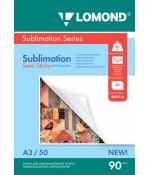 Фотобумага Lomond сублимационная 1х90гр, 50л, А3 полулипкая (0809316)
