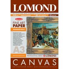 Холст Lomond, 320 г/кв.м., A3, лён, струйная печать, пигмент 20л (0908322)