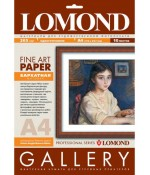 Бумага LOMOND Velour Bright Natural White - бархатная фактура, А4, 265 г/м2, 10 листов (0911141)