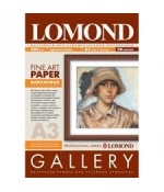 Бумага LOMOND Velour Bright Natural White Semigloss - бархатная фактура, А3, 268 г/м2, 20 листов  (0911232)