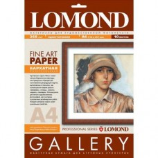 Бумага LOMOND VELOUR BRIGHT NATURAL WHITE SEMIGLOSS - БАРХАТНАЯ ФАКТУРА, А4, 268 Г/М2, 10 ЛИСТОВ  (0911241)
