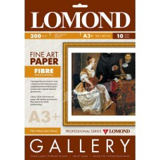 Фотобумага LOMOND FINE ART PAPER Fibre, A3+, 300 гр./м2 Warm (0937021)