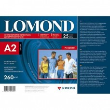 Фотобумага Lomond  с/глянцевая 1х260г/25л,А2 (1103106)