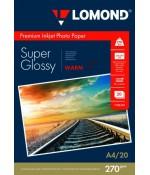 Бумага Lomond суперглянцевая 1х270г/20л,А4, Warm (1106101)