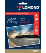 Фотобумага Lomond c/глянцевая 1*270г,20л,10х15см. (1106102)