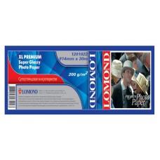 Рулонная фотобумага Lomond XL Premium Super Glossy Photo Paper, ролик 914мм*50,8 мм, 200 г/м2, 30м (1201022)