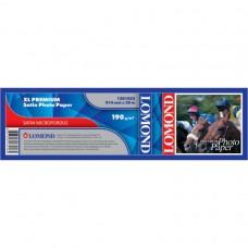 Рулонная фотобумага LOMOND XL Premium Satin Photo Paper, ролик 914мм*50,8 мм, 190 г/м2, 30м (1201052)