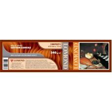 Хлопковый холст LOMOND ярко-бел. с матов. синтет. покр. 610 мм. / 15 м. / 50.8 мм., 340 г/м2 (1207071)