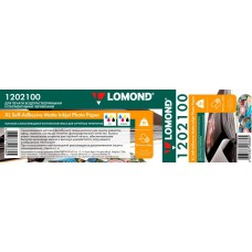 Рулонная самоклеящаяся бумага LOMOND XL Matt Self-Аdhesive Photo Paper, ролик 297мм*76 мм, 90г/м2, 20 м (1202100)