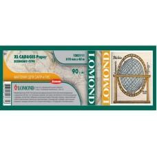 Рулонная матовая бумага для САПР и ГИС LOMOND XL CAD&GIS Paper Economy Type, 610мм*45м, 90 г/м2 (1202111)