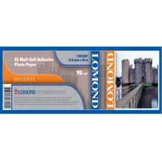 Рулонная самоклеящаяся бумага LOMOND XL Matt Self-Аdhesive Photo Paper, ролик 610мм*50,8 мм, 90г/м2, 20 м (1202201)