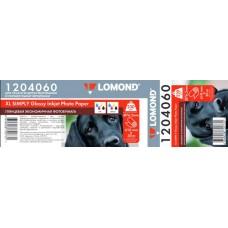 Бумага Lomond глянцевая эконом, рулон 230 г/м2 (610 x 30 x 76,2)  (1204060)