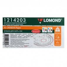 Бумага Lomond инженерная 80г/м2(1067мм х 45м х 50,8мм) Premium (1214203)