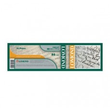 Рулонная фотобумага Lomond рулон, офсетная 80г/м2(891мм х 175м х 76мм), Premium (1214210)