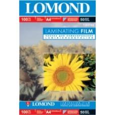 Lomond Пленка для ламинирования глянцевая 100мкм,50л,А4 (1302142)