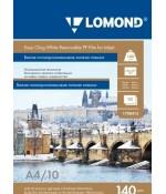 Пленка Lomond бесклеевая липкая, белая 1х140мкм, 10л, А3, для стр. пр (1708421)