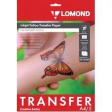 Бумага LOMOND для временных татуировок, А4, 5 листов (2010450)