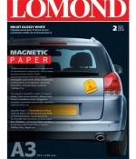 Фотобумага для струйной печати с магнитной подложкой глянец, A3 Lomond 2020347