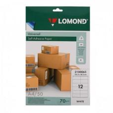 Lоmond наклейка A4/50/12 (2100065)