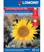 Lomond Пленка для ламинирования глянцевая 60мкм,50п,А4 (1303002)