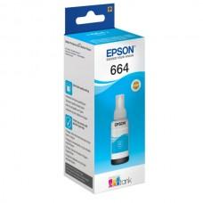 Контейнер с чернилами Epson T6642, циан (С13Т66424А)