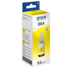 Контейнер с чернилами Epson T6644, желтый (С13Т66444А)