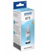 Контейнер с чернилами Epson T6735, светлый циан (C13T67354A)