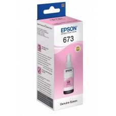Контейнер с чернилами Epson T6736, светлый маджента (C13T67364A)