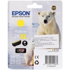 Картридж Epson T2634 XL Yellow (C13T26344010)
